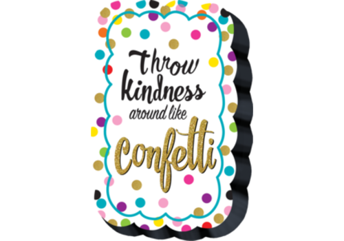 Teacher Created Resources Confetti Magnetic Whiteboard Eraser