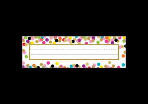 Teacher Created Resources Confetti Name Plates
