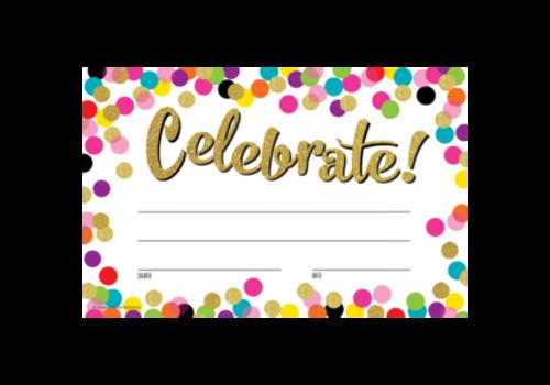 Teacher Created Resources Celebrate! Confetti Award