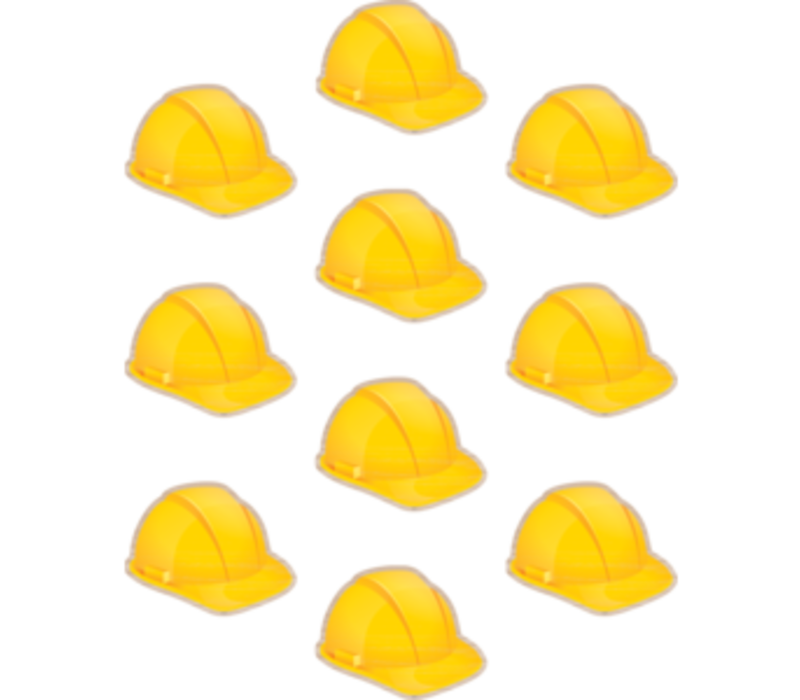 "Under Construction Hats Accents 6"" *"