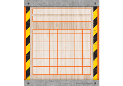 Teacher Created Resources Under Construction Mini Incentive Charts *