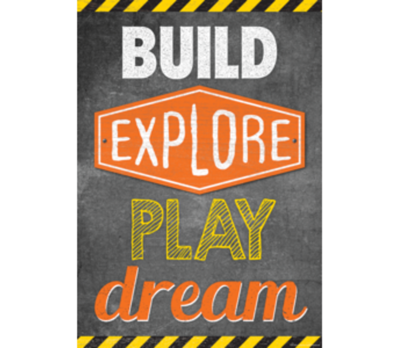 Build, Explore, Play, Dream Poster*