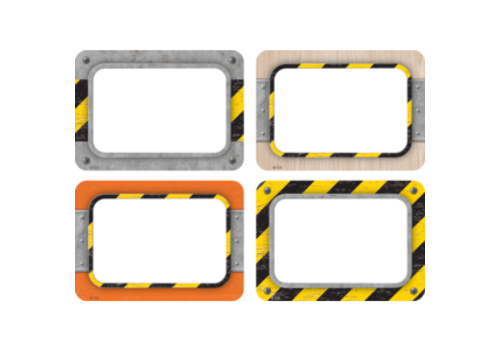 Teacher Created Resources Under Construction Nametags/Labels Multi-pack
