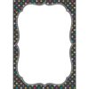 Teacher Created Resources Clingy Thingies - Chalkboard Brights Large Note Sheet