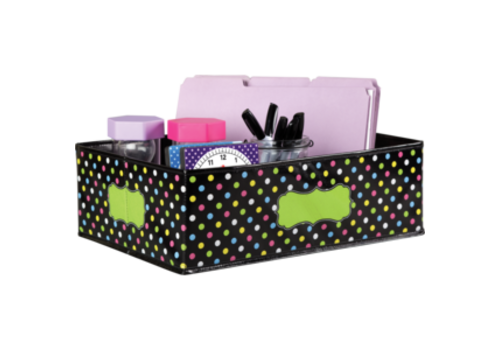 Teacher Created Resources Chalkboard Brights Storage Bin