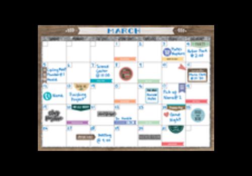 Teacher Created Resources Clingy Thingies - Home Sweet Classroom Calendar Set *