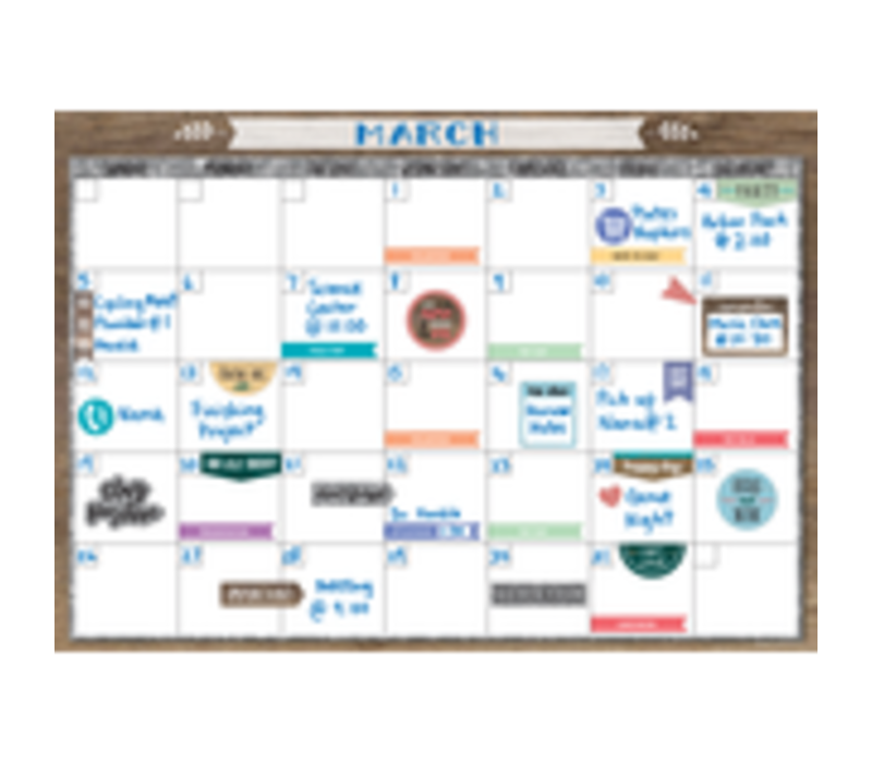 Clingy Thingies - Home Sweet Classroom Calendar Set *
