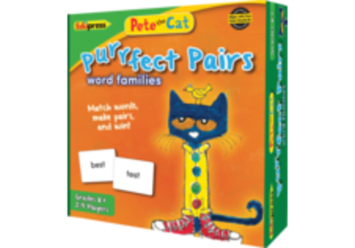 Teacher Created Resources Purrfect Pairs Word Families Matching Game