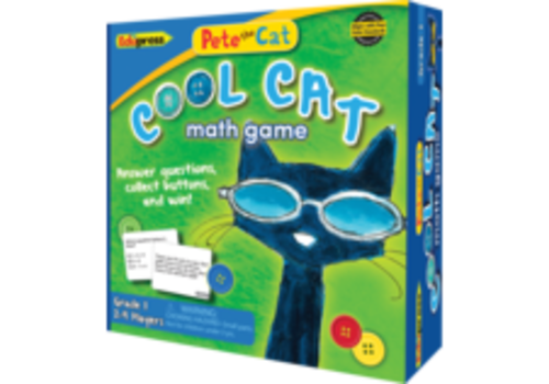 Teacher Created Resources Pete the Cat Cool Cat Math Game, Grade 1