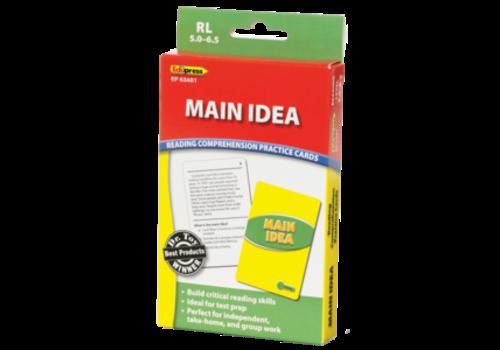 Teacher Created Resources Main Idea Reading Comprehension Cards, 5.0-6.5