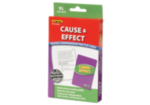 Teacher Created Resources Cause and Effect Reading Comprehension Cards - RL 5.0-6.5