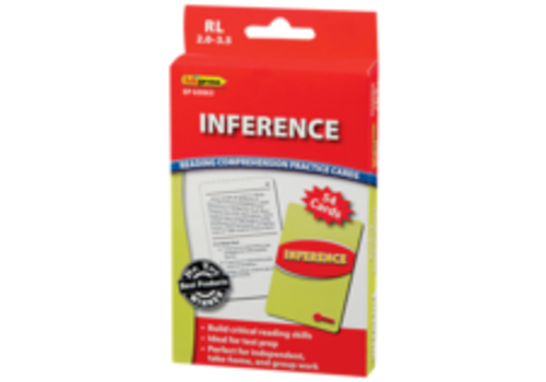 Teacher Created Resources Inference Reading Comprehension Cards, 2.0-3.5
