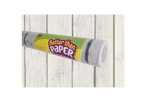 Teacher Created Resources Better than Paper - White Wood Bulletin Board Roll