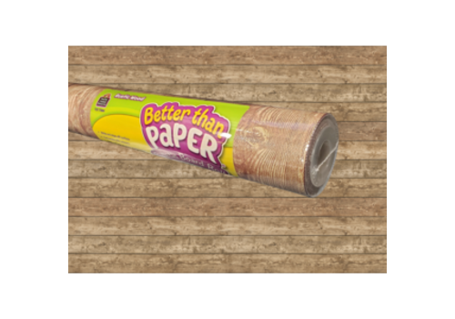 Teacher Created Resources Better than Paper - Rustic Wood Bulletin Board Roll *