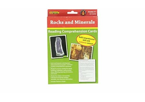Teacher Created Resources Rocks and Minerals - Reading Comprehension Cards