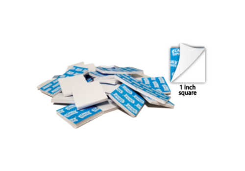 """Teacher Created Resources Clingy Thingies Adhesive 1"""" Squares, 50 pack"""