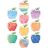 Teacher Created Resources Watercolor Apples Accents *