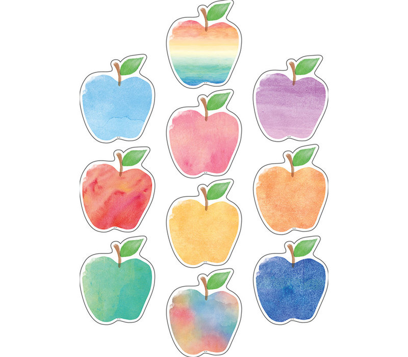 Watercolor Apples Accents *
