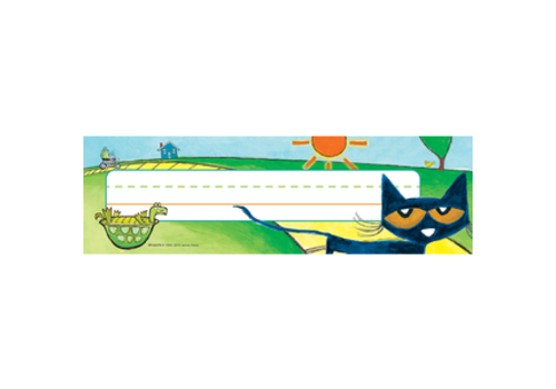 Teacher Created Resources Pete the Cat Nameplates