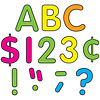 """Teacher Created Resources Neon Brights Classic Letters 4"""" *"""