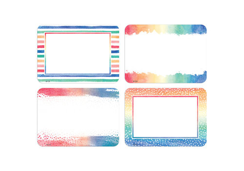 Teacher Created Resources Watercolour Name Tags/Labels