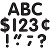 """Teacher Created Resources Black Classic 4"""" Letters Uppercase Pack *"""