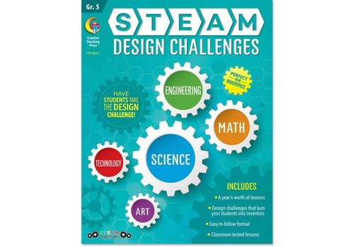 Creative Teaching Press Steam Design Challenges 5