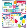 Carson Dellosa Hello Sunshine Calendar Bulletin Board Set*