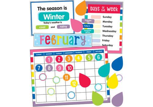 Carson Dellosa Hello Sunshine Calendar Bulletin Board Set