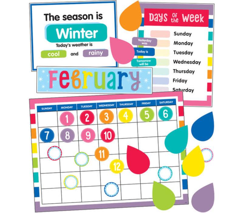 Hello Sunshine Calendar Bulletin Board Set*