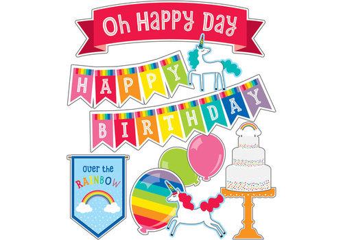 Carson Dellosa Hello Sunshine Birthday Mini Bulletin Board Set