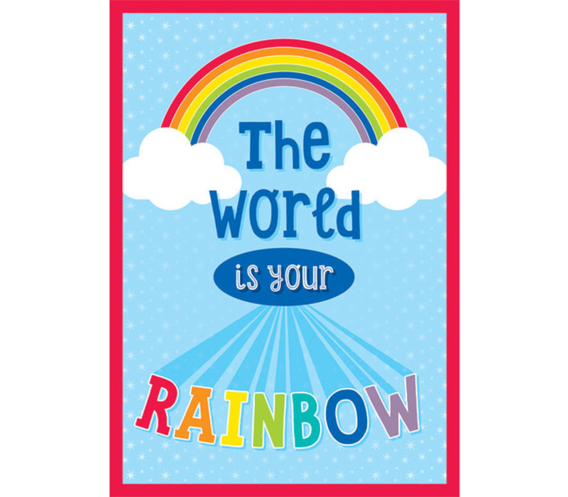 The World Is Your Rainbow Poster