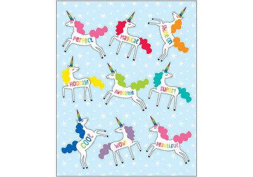 Carson Dellosa Unicorns Shape Stickers