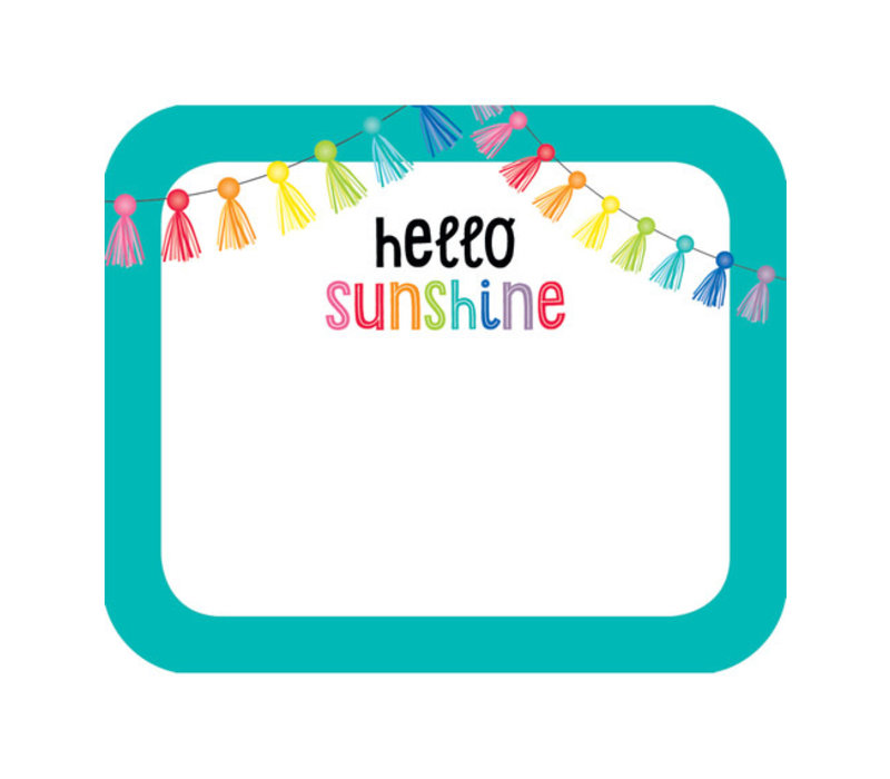 Hello Sunshine Name Tags *