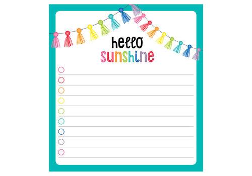 Carson Dellosa Hello Sunshine Notepad