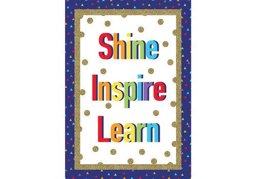 Carson Dellosa Shine Inspire Learn Poster