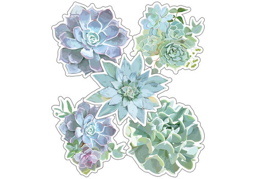 Carson Dellosa Simply Stylish Succulents Cut-Outs