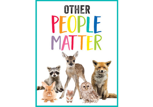 Carson Dellosa Woodland Whimsy - Other People Matter Chart