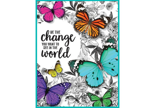 Carson Dellosa Woodland Whimsy - Be the Change Chart