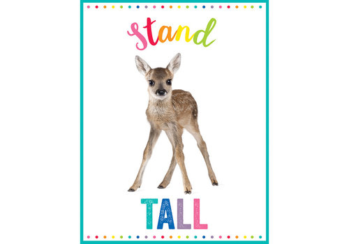 Carson Dellosa Woodland Whimsy - Stand Tall Chart *