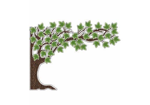 Carson Dellosa Big Tree Bulletin Board Set, 49 pieces  School Girl Style *