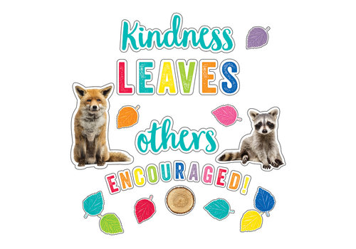 Carson Dellosa Kindness Leaves Others Encouraged Bulletin Board Set