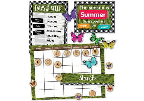 Carson Dellosa Woodland Whimsy Calendar Bulletin Board Set *
