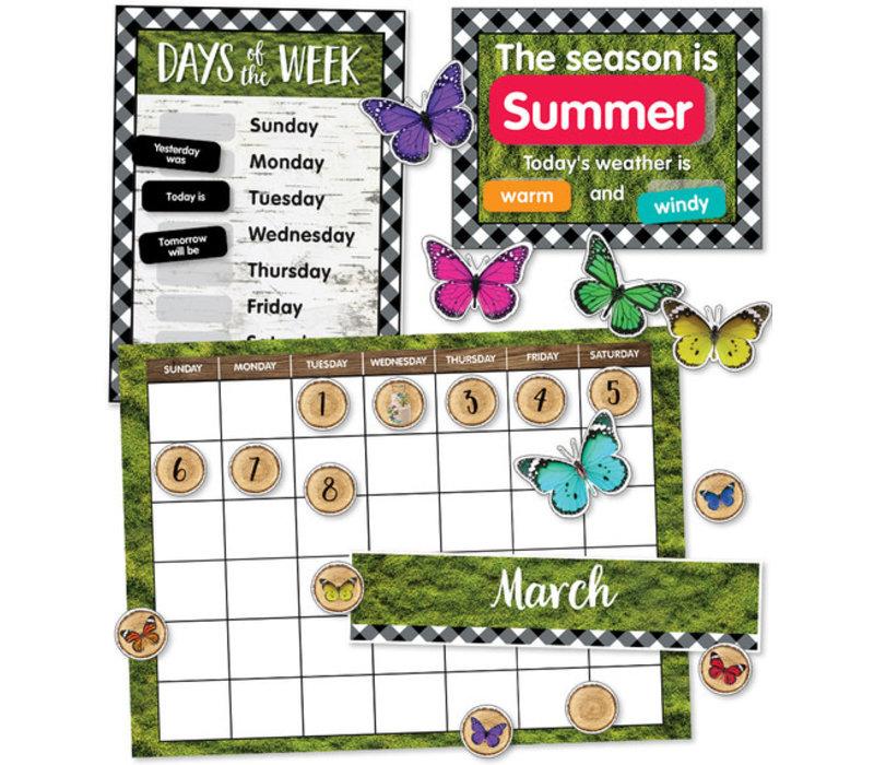 Woodland Whimsy Calendar Bulletin Board Set *