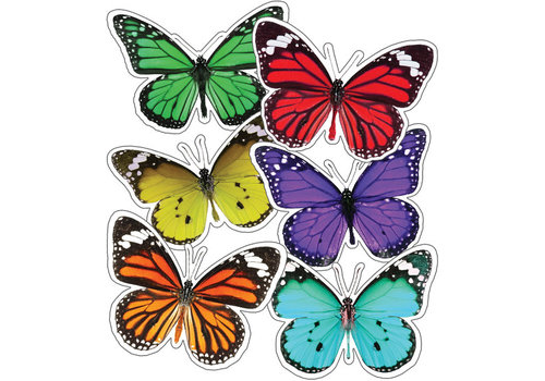 Carson Dellosa Woodland Whimsy Butterflies Cut Out *