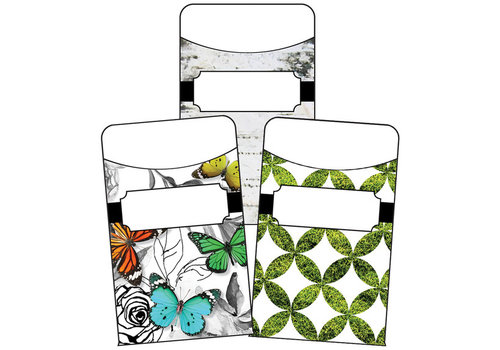 Carson Dellosa Woodland Whimsy Library Pockets