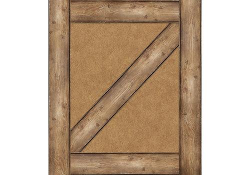 Carson Dellosa Schoolgirl Style Straight Edge Woodgrain Border*