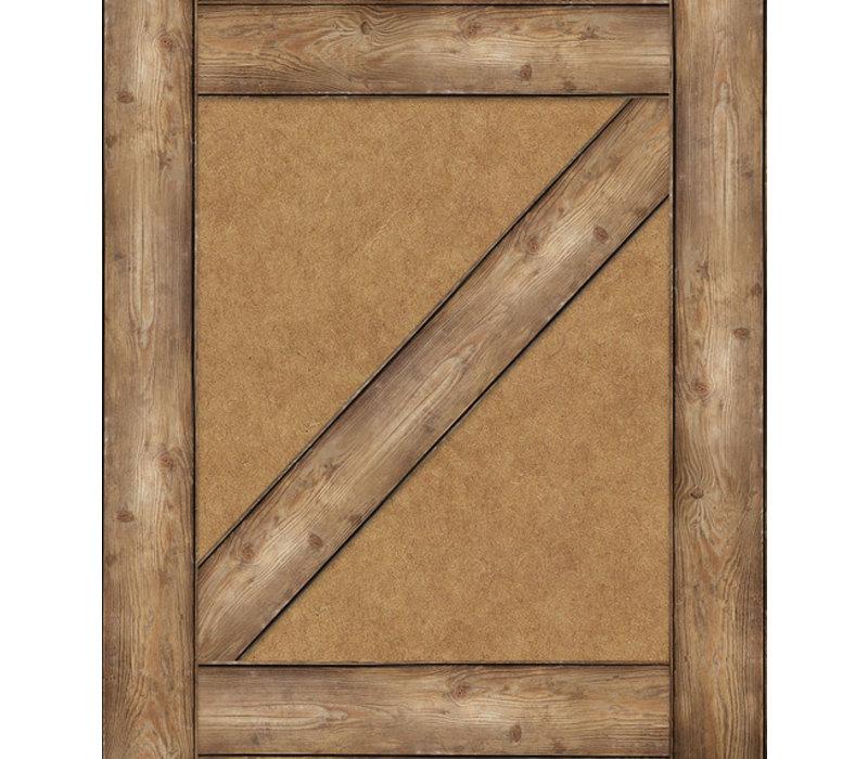 Schoolgirl Style Straight Edge Woodgrain Border*