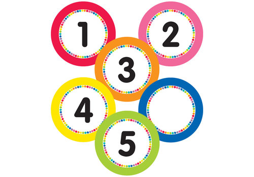 Carson Dellosa Just Teach - Numbers Magnetic Cutouts