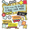 Carson Dellosa Aim High Make Your Mark Bulletin Board Set